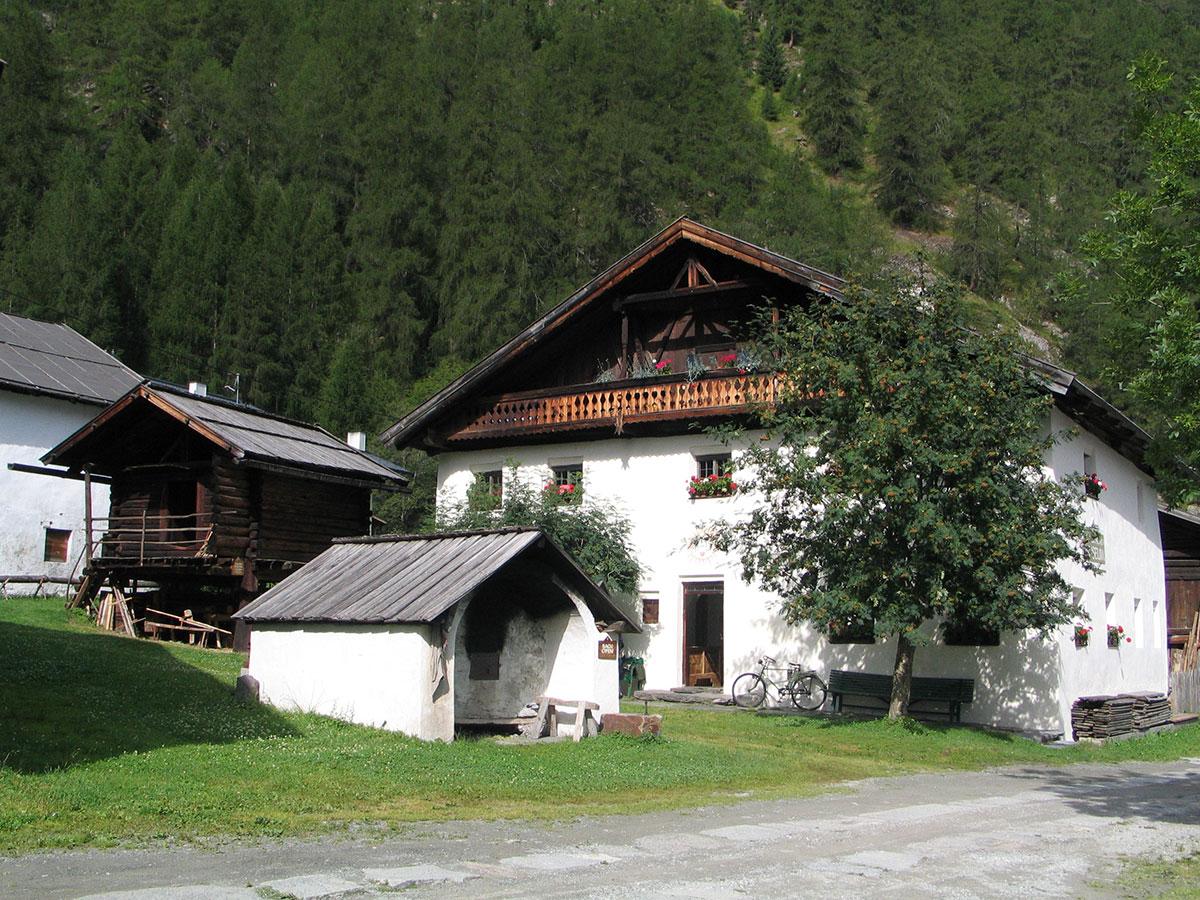 Mittelflurhaus in Lehn